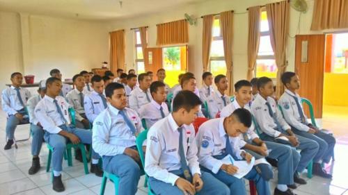 Suasana Sosialisasi PTM dan Perokok Remaja